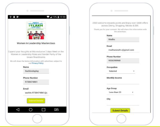 Ola app advertising for event promotion