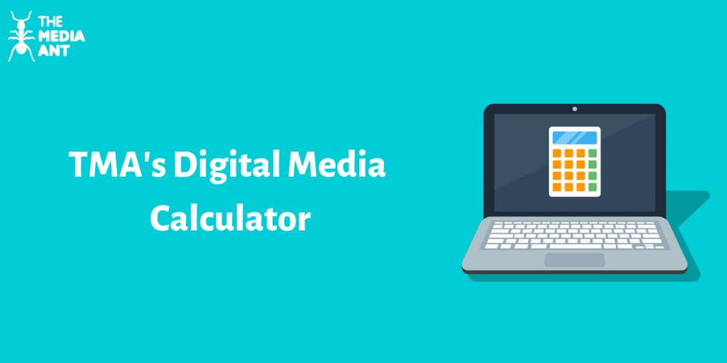 TMA's Digital Media Calculator