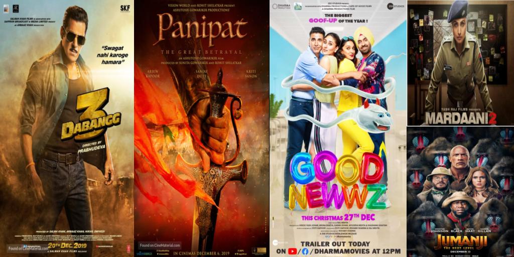 movies releasing in december 2019